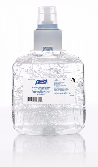 Purell Ltx 12 Advanced Hand Sanitizer Gel 2 X 1200ml Refills