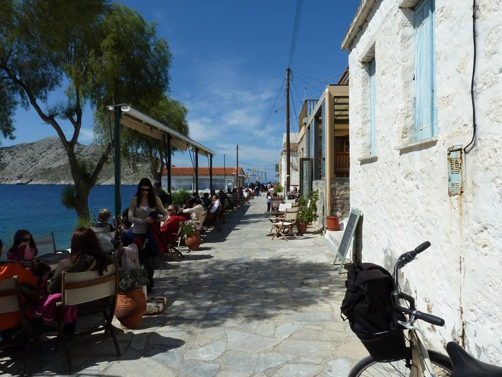 Cycling in Aegina island