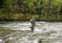 fly fishing Greece