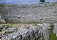 ioannina, By areadeandavid (Flickr: Amphitheatre at Dodoni, Greece) [CC-BY-2.0 (http://creativecommons.org/licenses/by/2.0)], via Wikimedia Commons