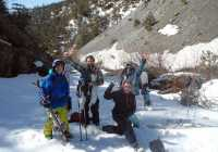 snow sports greece