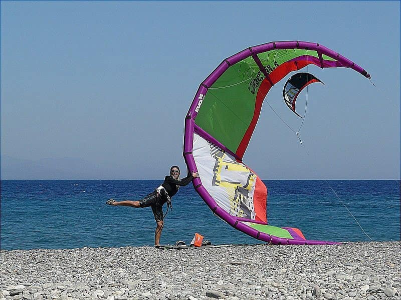 Kitesurfing Windsurfing Kos Greece