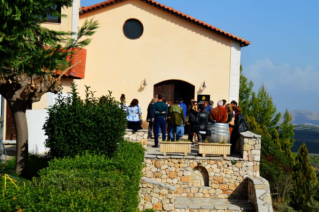External view of Lafkiotis winery