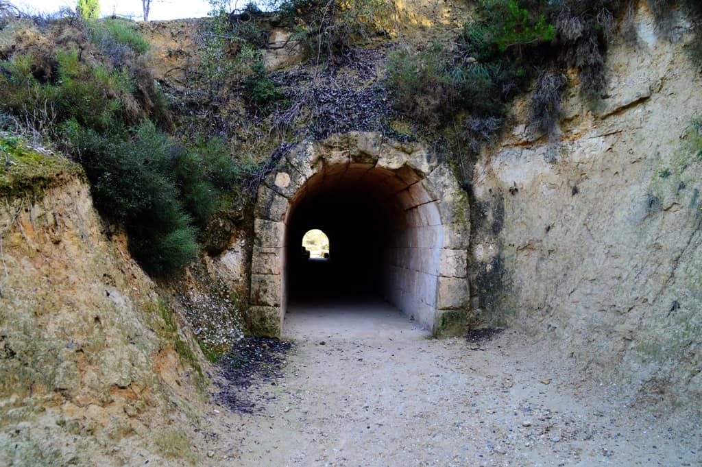 Nemea tunnel to stadium