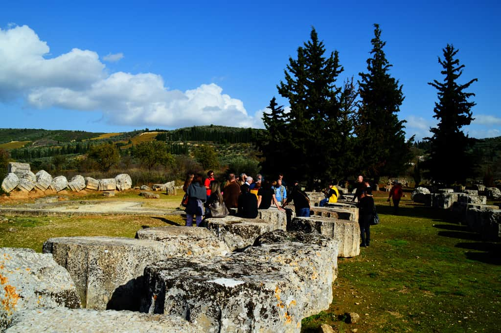 Nemea Zeus temple surrounding area