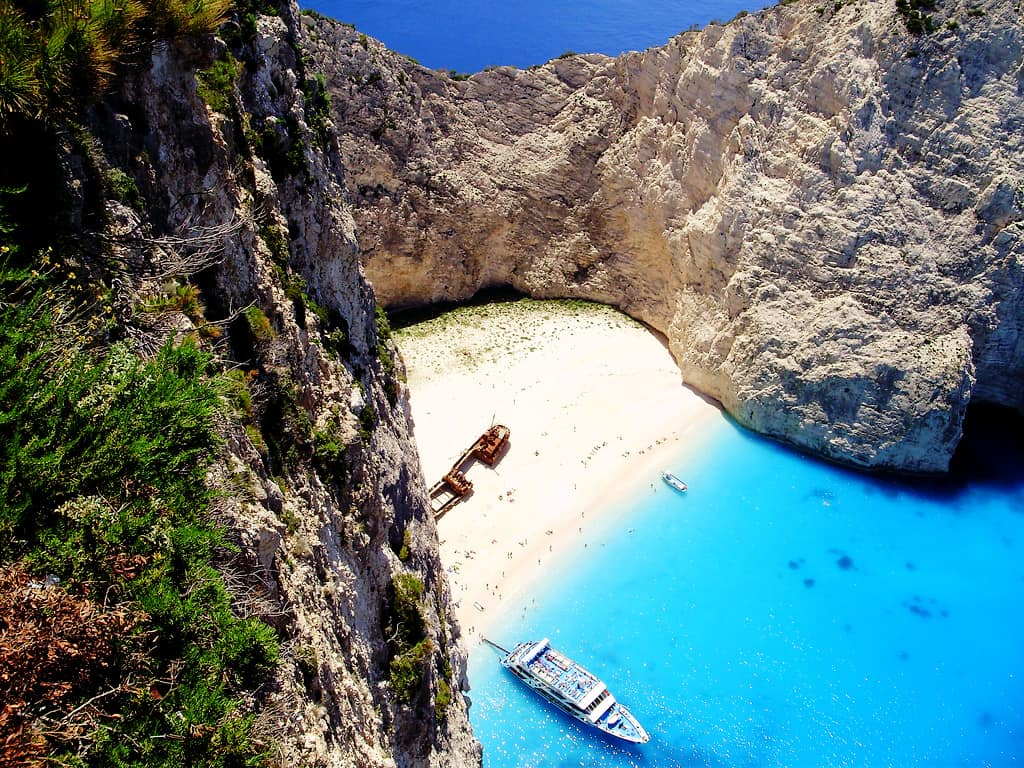 The Shipwreck - Best Greek Islands for Couples