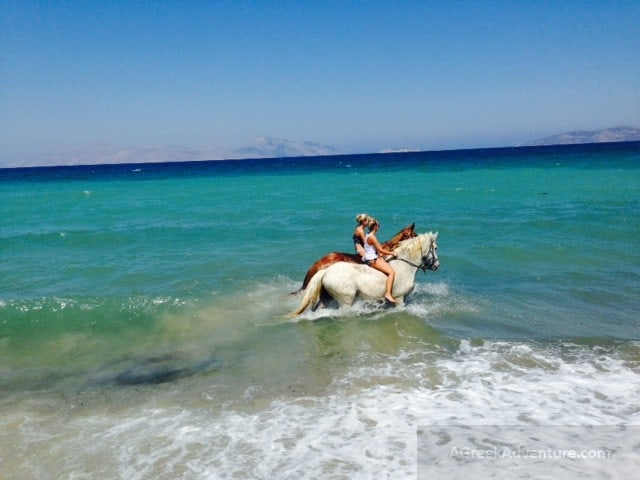 Horse Riding Kos Island Greece