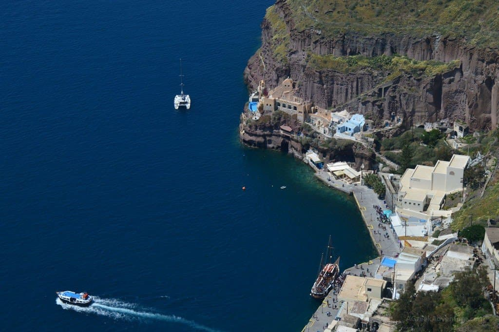 Santorini island - Fira or otherwise called as Thera