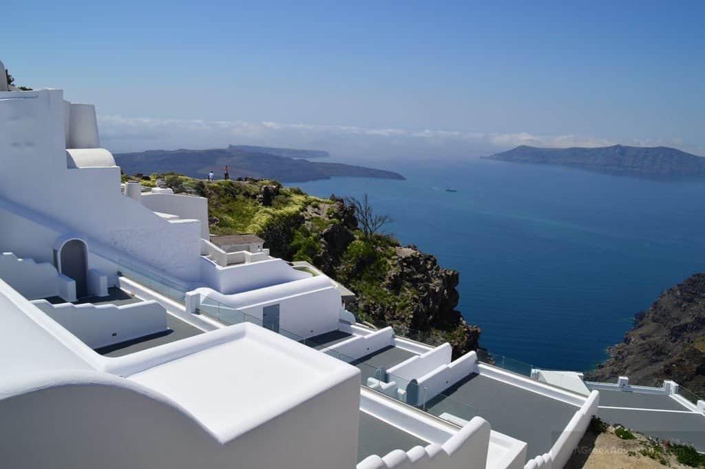 Santorini Thira Greece - Fira or otherwise called as Thera