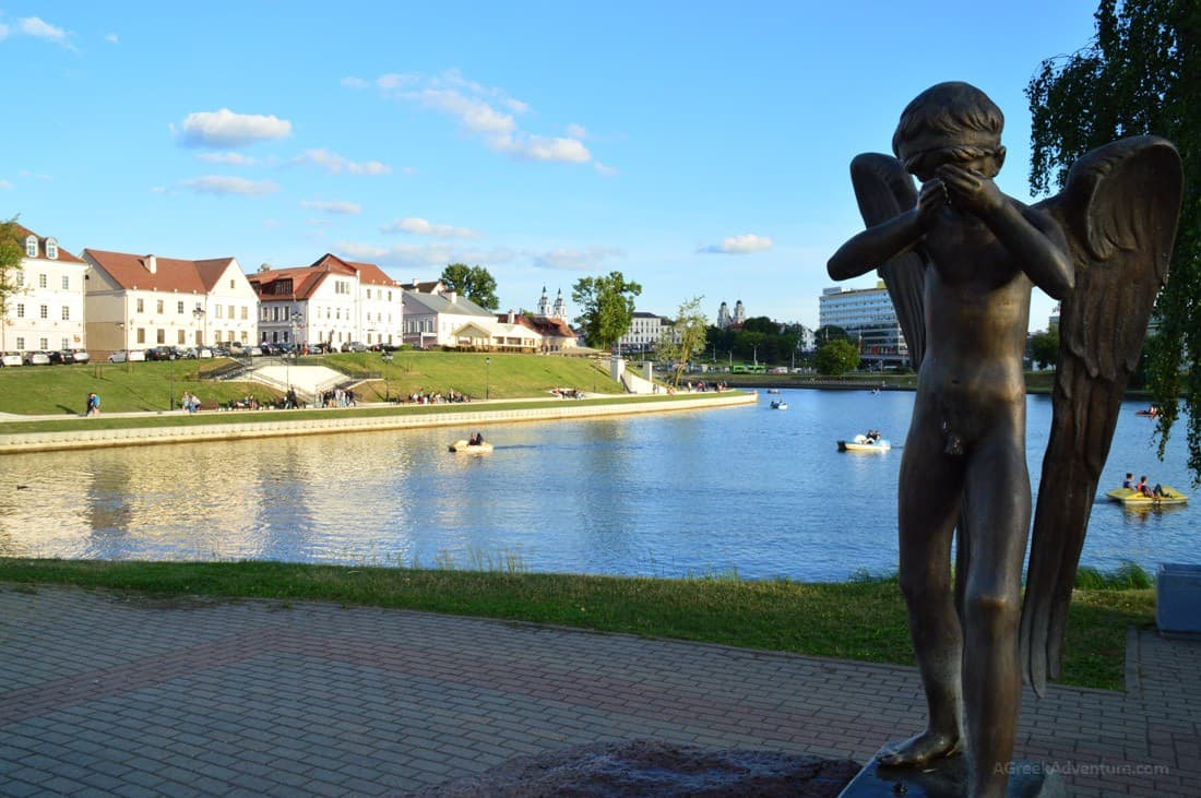 Glorious Summer Walk-Through Minsk, Belarus