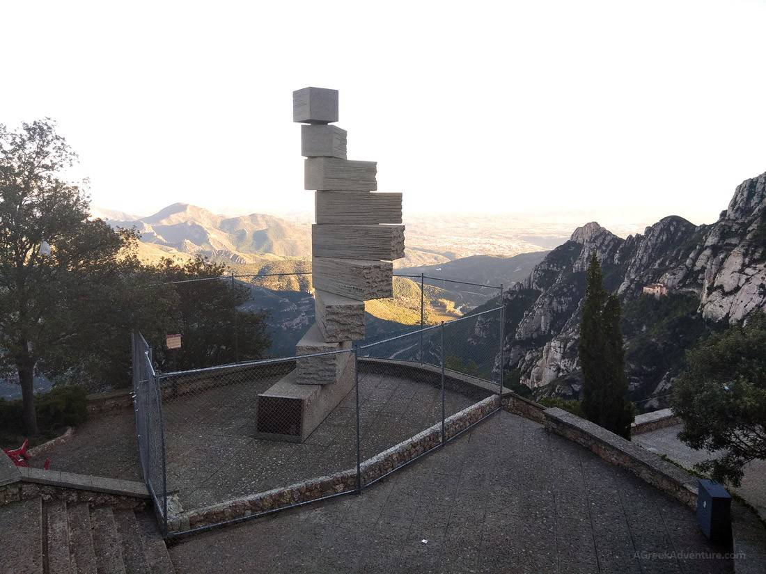Mystical Hiking Montserrat Barcelona Barcelona Spain: One with God?