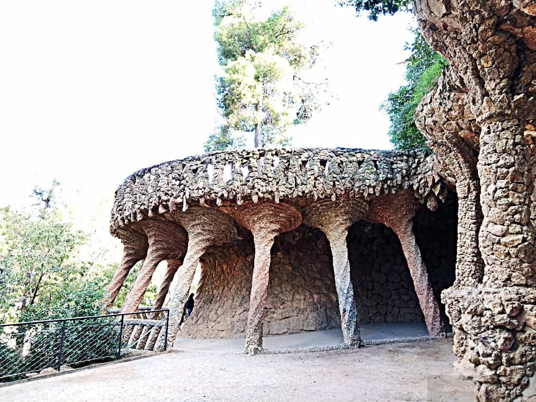 Gaudi Park Guell Barcelona - Fairyland of Gaudi