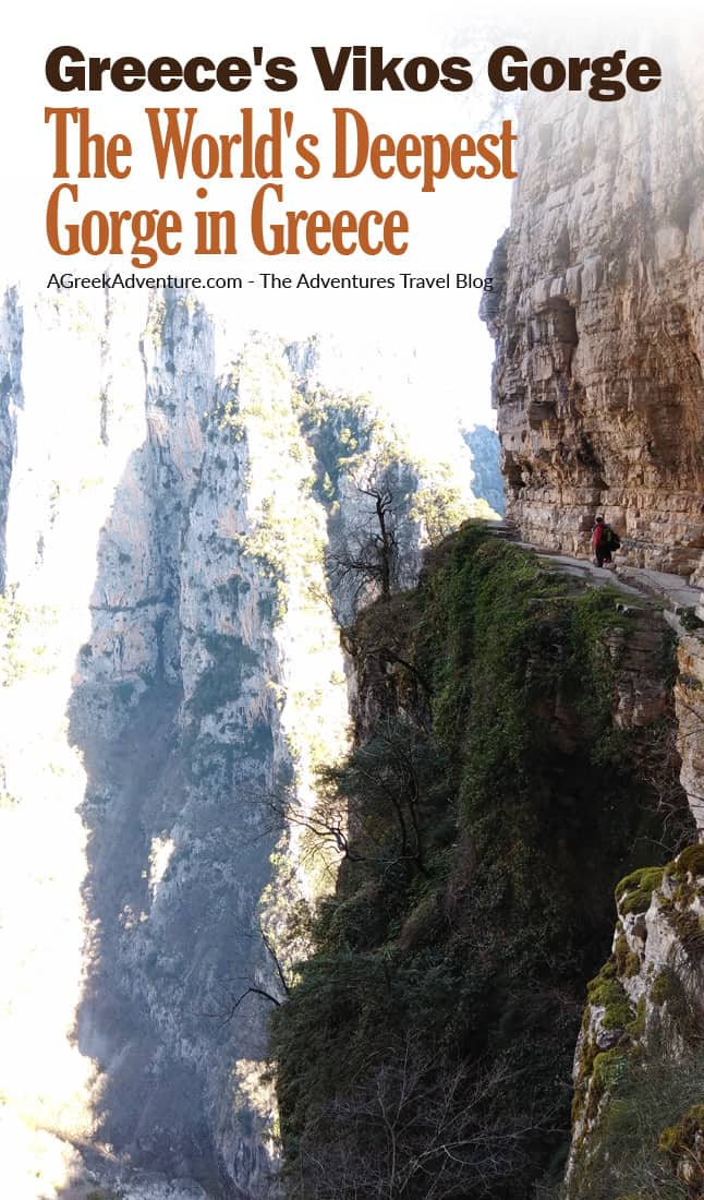 Greece's Vikos Gorge: The World's Deepest Gorge in Greece