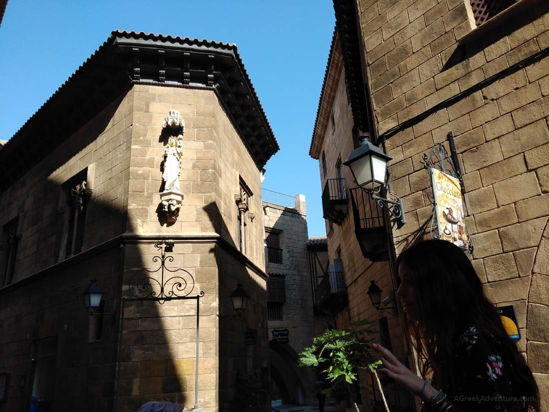 Poble Espanyol Barcelona - Whole of Spain in One Big Village