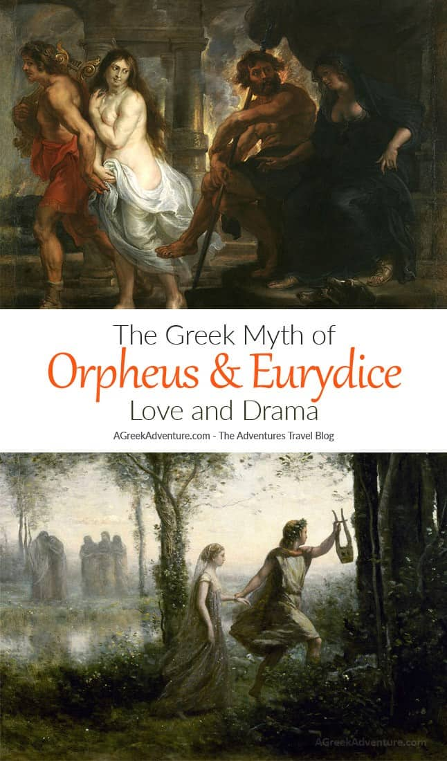 Orpheus And Eurydice Love Drama Ancient Greece