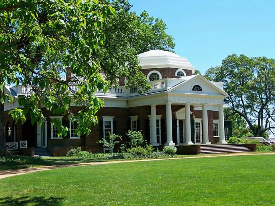 Charlottesville Virginia 8 Best Places to Visit in March in the USA monticello-719876_960_720