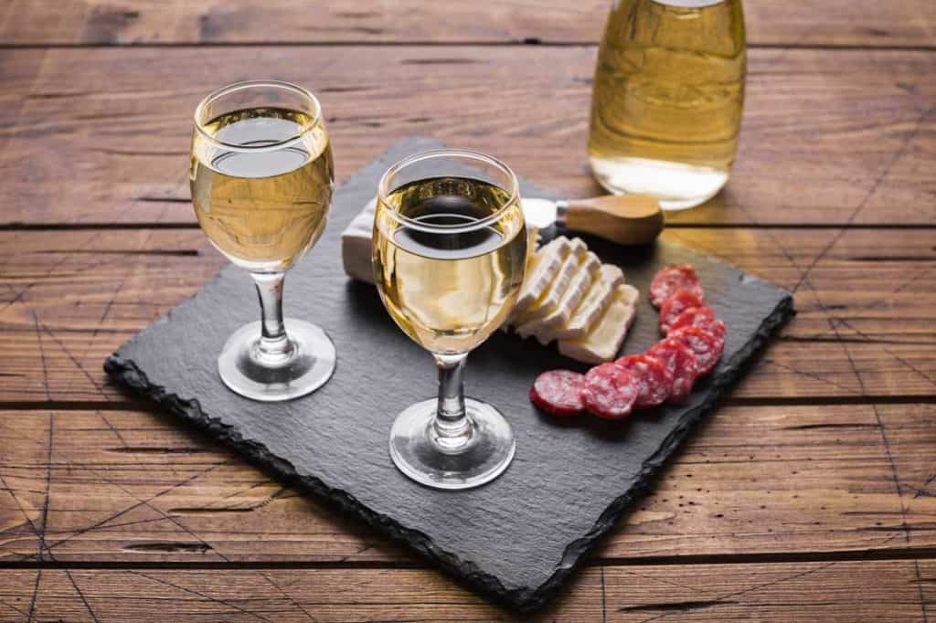 Best Wine Tours In The USA Wine pairing with cheese and salami