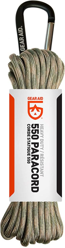 GEAR AID 550 Paracord And Carabiner