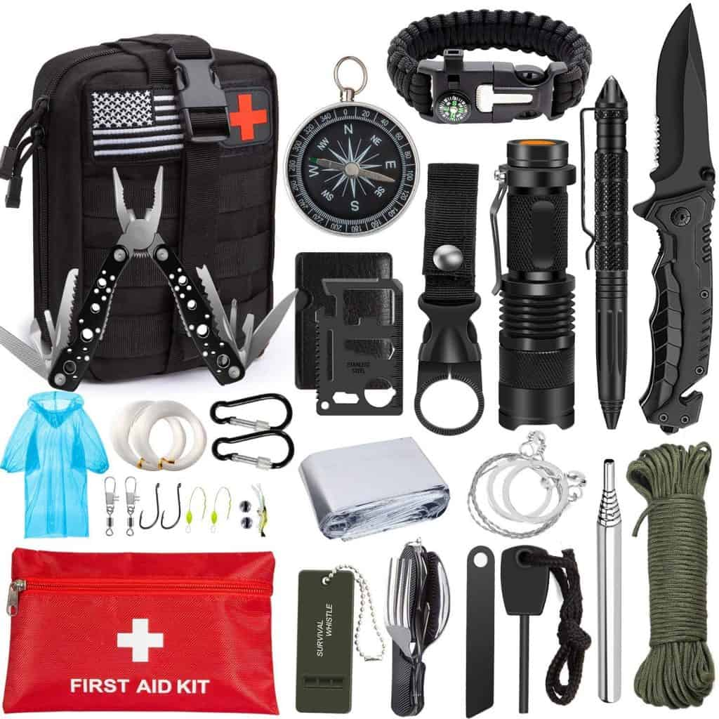 Emergency Survival Kit 47 In 1 Survival Gear