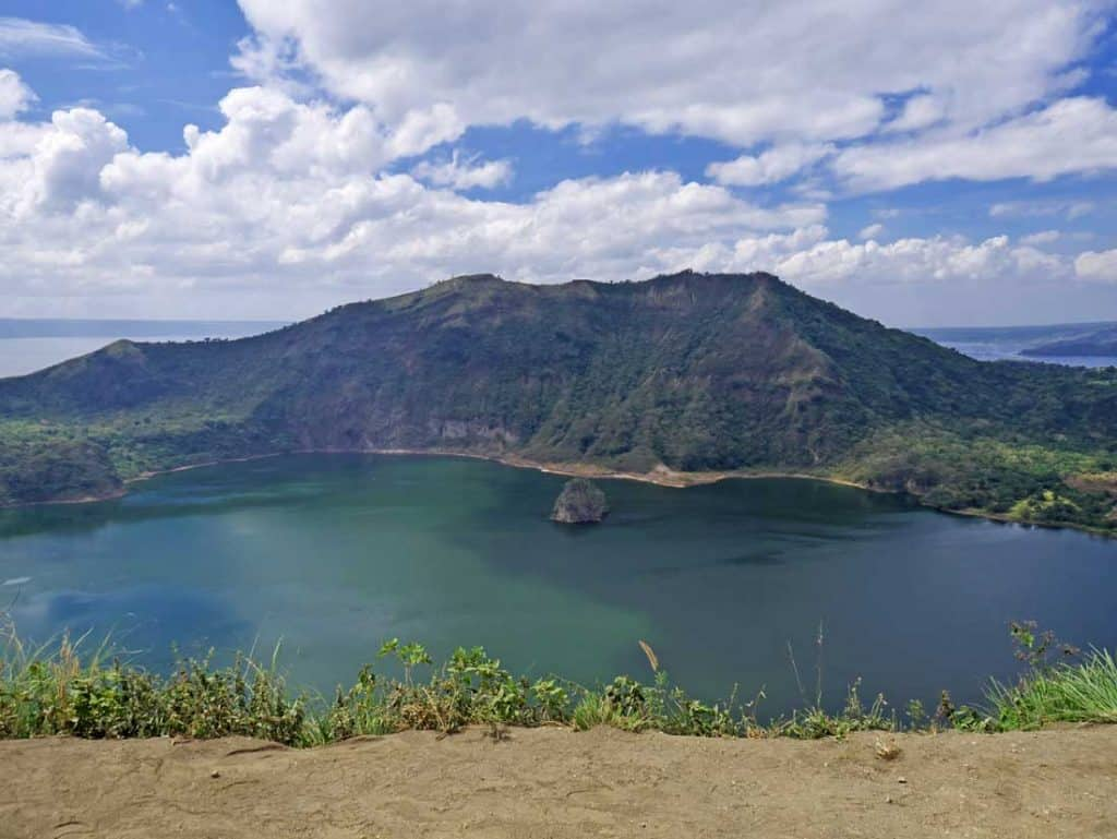 The view on Taal volcano Best Islands in the Philippines