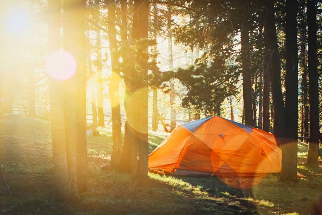 Stay Cool While Camping