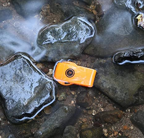 UST Refillable Waterproof, Windproof Floating Lighter with Butane