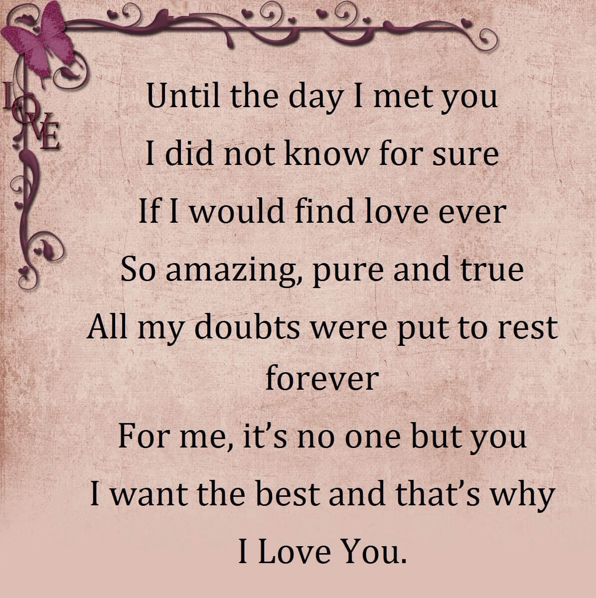 I Love You Poems For Wife 1