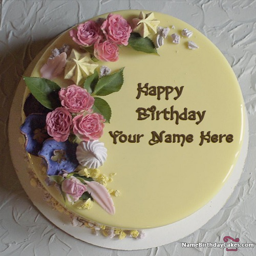 Birthday Cake And Wishes For Sister