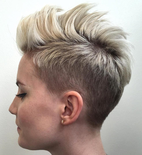 """The men's undercut haircut is a trendy style built on the """"short sides,. 50 Women S Undercut Hairstyles To Make A Real Statement"""