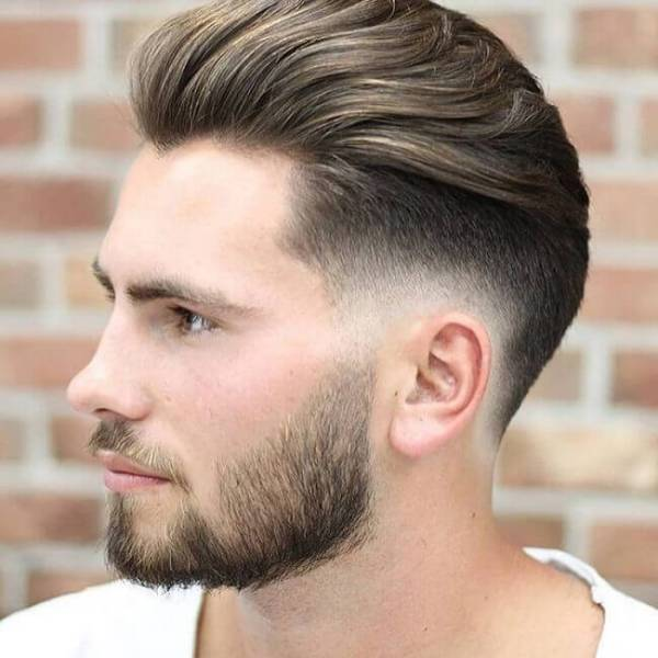3 long comb over hairstyle + low fade; Best Mens Hairstyles 2021 To 2022 All You Should Know