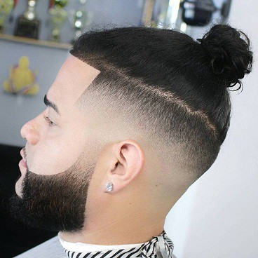 A great style that is curly in the mohawk fashion. 20 Best Samurai Bun Haircut How To Get Tie Man Bun Atoz Hairstyles