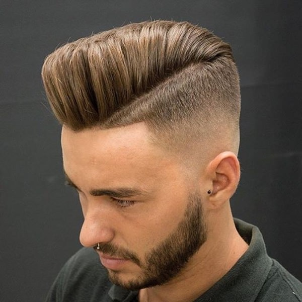 The hair is taken down very short in these areas, while the top is left much longer. 56 Cool Disconnected Undercut Hairstyles For Men