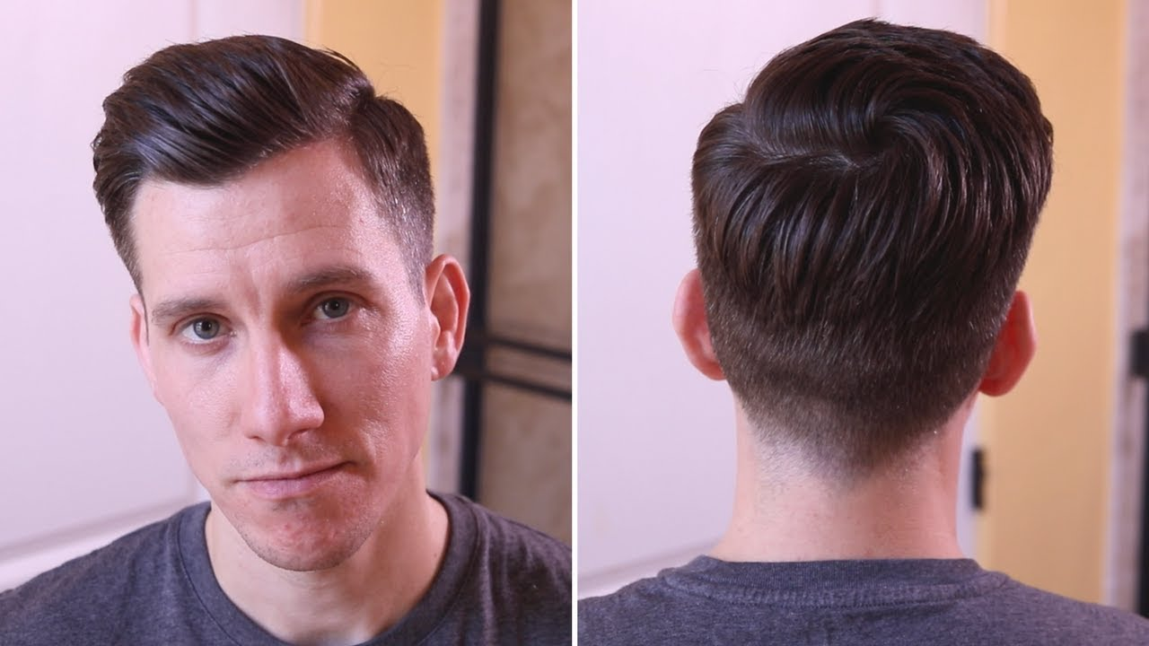 If your longer part of the hair is less than 3 inches, this is a particularly effective style and. New Haircut Modern Undercut Side Part Summer 2018 Youtube