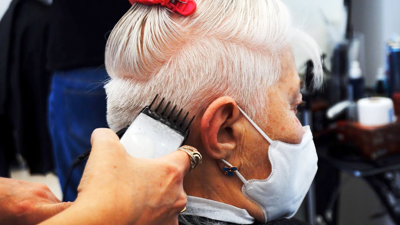 7/1/2020· the truth is that women over 60 are still charming in their special ways. Anti Age Haircut Short Pixie Edgy With Undercut Over 60 Youtube