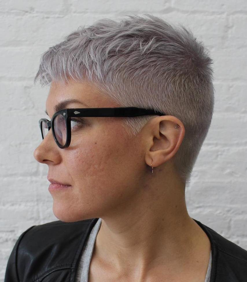 Blonde colored short pixie haircut. 50 Short Pixie Cuts And Hairstyles For Your 2021 Makeover Hair Adviser