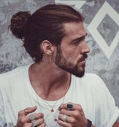 We may earn commission from links on this page, but we only recommend products we back. Man Bun The Best Guide For Men How To Gallery Hairmanz