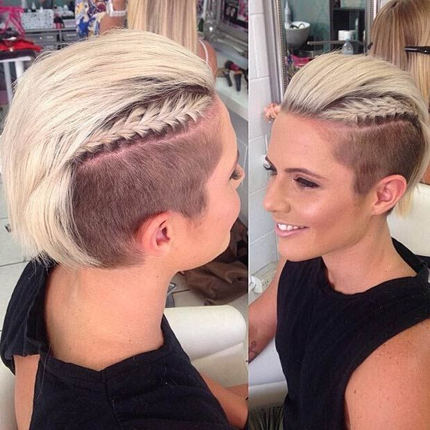 An undercut is essentially an extreme version of a short back and sides. 29 Awesome Undercut Hairstyles For Girls Pretty Designs