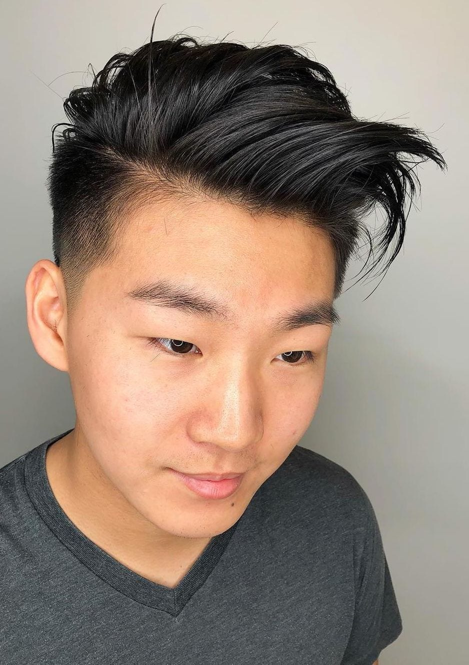 Undercut fade hairstyle asian it is suitable for you,. Top 30 Trendy Asian Men Hairstyles 2021