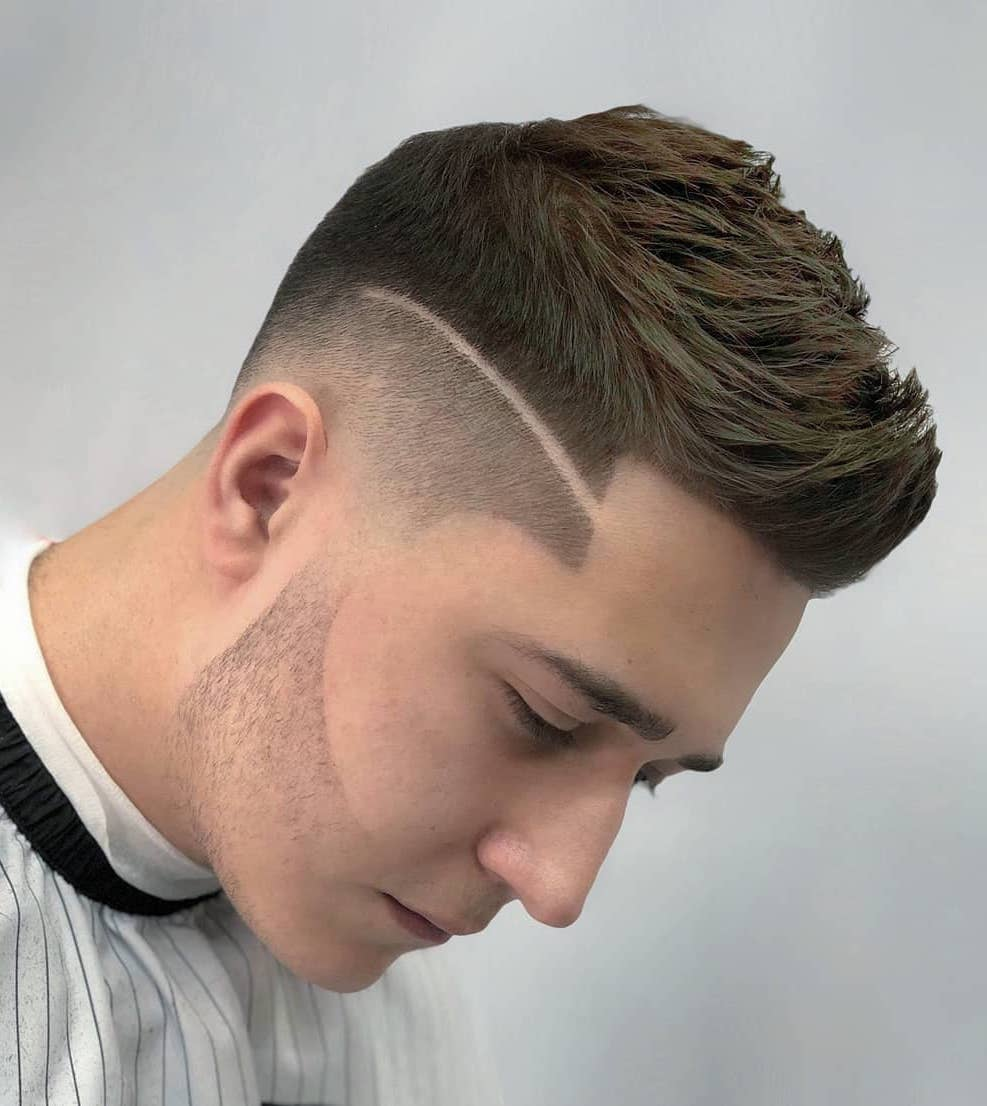 Advertisement hairstyles are an important part of looking fashionable. Top 25 Most Stylish Men Hairstyles 2020 Best Undercut Fade Ideas 17 Arabic Mehndi Design