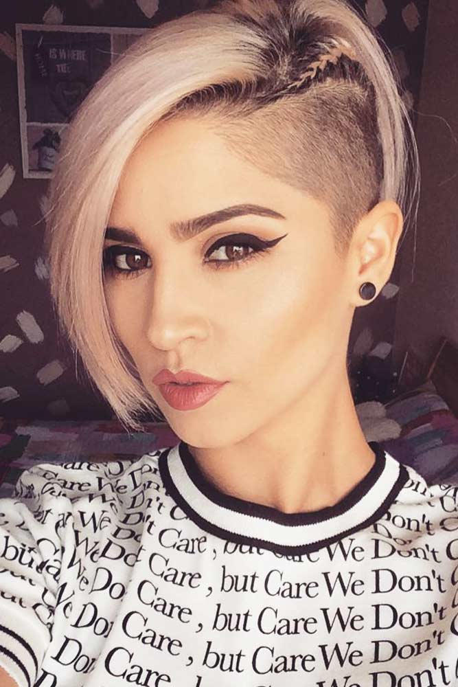 The sides will be freshly shaved and you'll sweep all the hair on top to one side, it's effortlessly hip and your hair doesn't annoy you in. 40 Trendiest Undercut Hairstyles For Your Bold Look Lovehairstyles