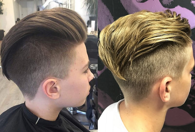Looking for a hairstyle that gives major volume and leaves hair looking surprisingly full? 15 Handsome Undercut Hairstyles For Boys Child Insider