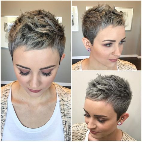 Easy to maintain and style, a pixie is perfect for women who are short on. Hottest Short Pixie Haircuts Undercut For Women Short Hair Short Hair Undercut Chic Short Hair Short Hair Styles Pixie