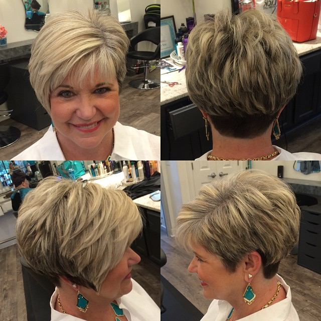 Chic short hairstyles for women over 11 11 11 (with images | short spiky haircuts for over 60 celebrity beard stylist sally hershberger—the artist of miley's … 50 Age Defying Hairstyles For Women Over 60 Hair Adviser