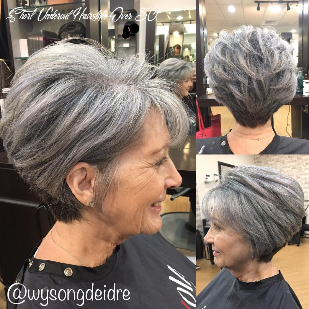 Browse these stunning celebrity bobs, lobs, and more flattering short hairstyles to wear in 2021. 11 Short Undercut Hairstyle Over 50 Undercut Hairstyle