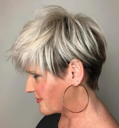 Just because you're over 40, doesn't mean you can't still have fun with your hair. 20 Flawless Pixie Haircuts For Women Over 50