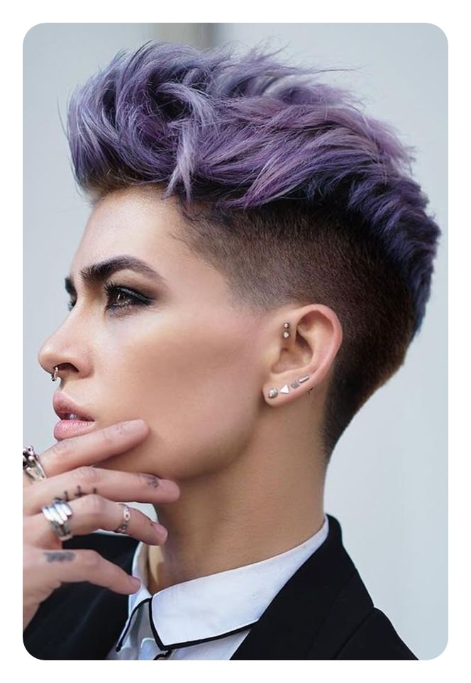 Today's standards don't dictate that a women over 50 has to have a certain hairstyle. 71 Undercut Women Ideas Perfect For A Bold And Expressive Look