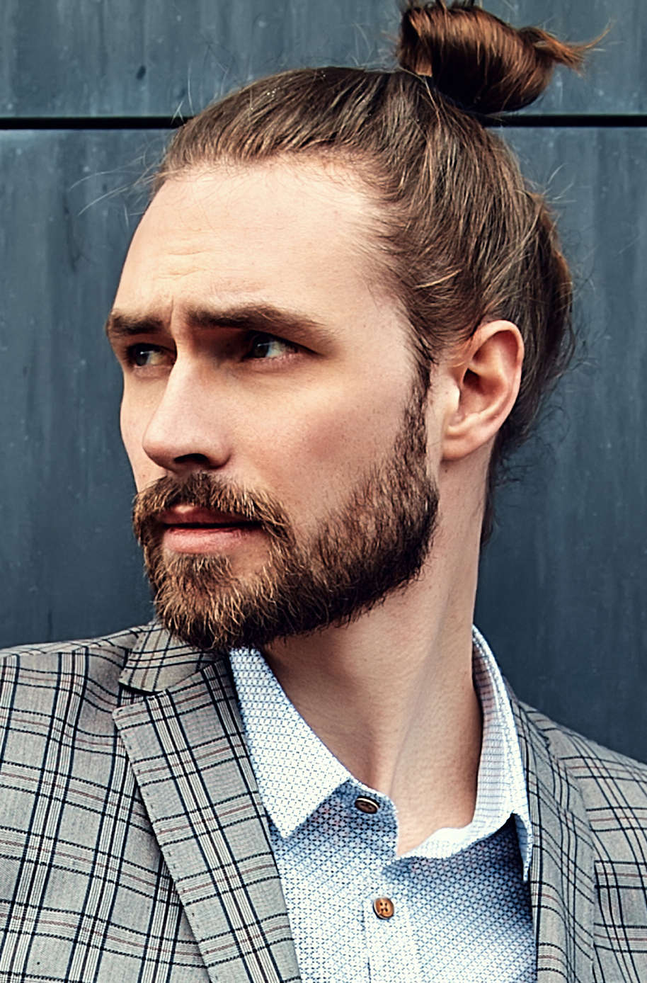 The man bun might be bad, but these 5 hair trends are even worse. The Top Knot Hairstyle Visual Guide For Men 7 Different Styles