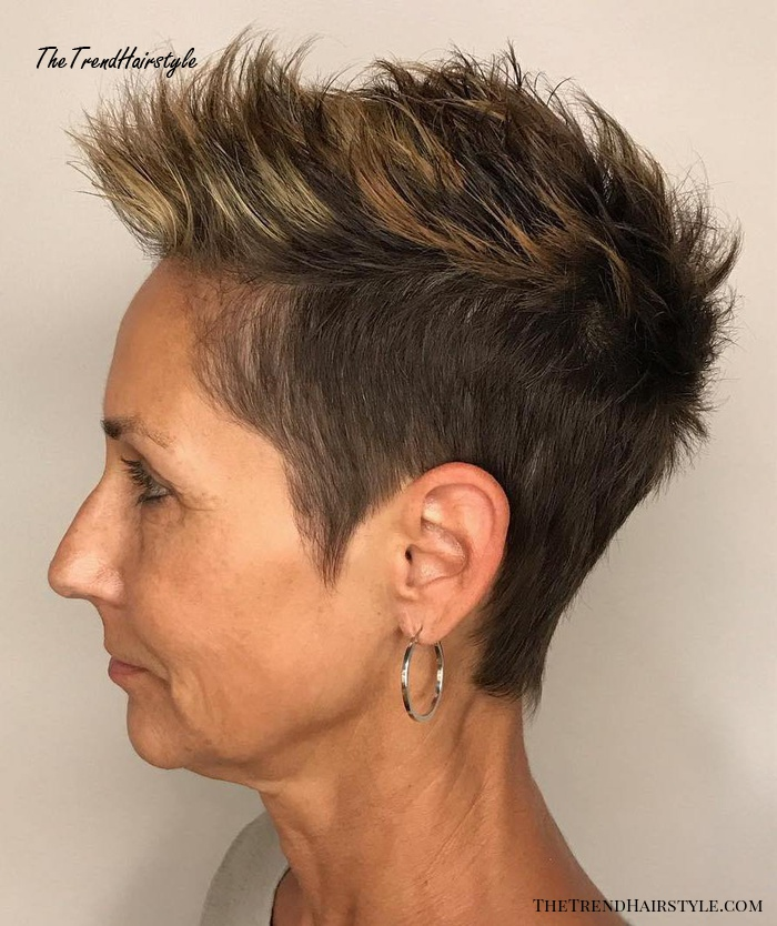 The medium length hairstyles are easy to maintain and you. Razored Pixie With Balayage And Root Shadow 20 Flawless Pixie Haircuts For Women Over 50 The Trending Hairstyle