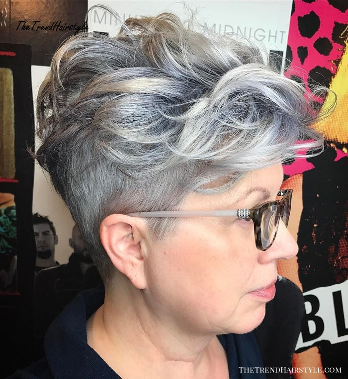 7/1/2020· the truth is that women over 60 are still charming in their special ways. Cool Pixie With Undercut Sides 20 Best Hairstyles For Women Over 50 With Glasses The Trending Hairstyle