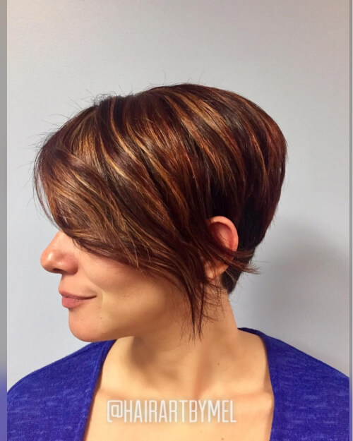 The medium length hair can increase the look of the hair volume and it can keep your appearance trendy as well. Undercut Hairstyles For Over 50 Nice